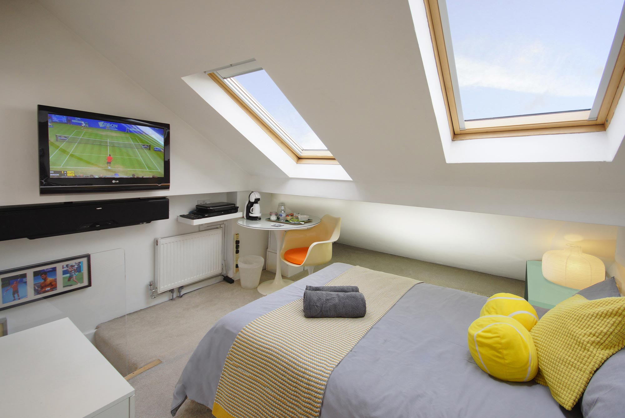 Double Loft Room With Ensuite